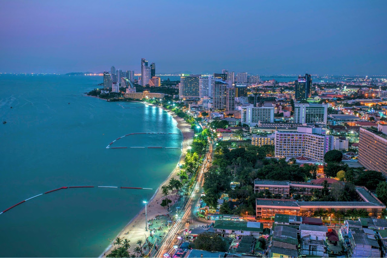 Город паттайя таиланд фото